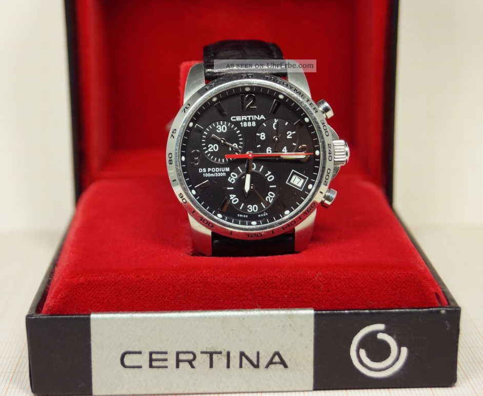 Certina DS 1 Chrono Automatique Watch | aBlogtoWatch