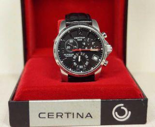 Certina Ds Podium 316l (100 Meter) Herrenuhr - Chronograph Mit Saphirglas Bild