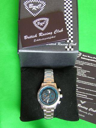 Brc Monza Herrenautomatikuhr Armbanduhr Automatik Kalender Uhr Edelstahl Bild
