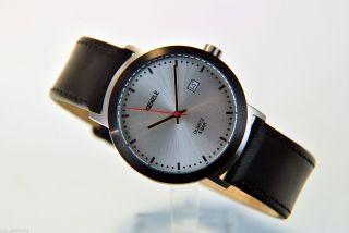 Kienzle Herren Uhr Quartz Edelstahl Mit Lederarmband Datum V71091336320 Bild