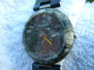 Tissot Quartz Marmor Uhr Swiss Made Eta R151 Bild