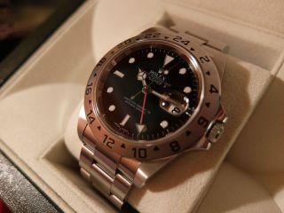 Rolex Explorer 2,  M - Serie Aus 2009,  Box,  Papiere,  Swimpruf,  Hangtag,  Ersatzglied Bild