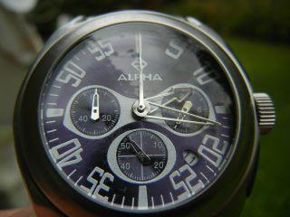 Alpha Chronograph Uhr 100m Bild