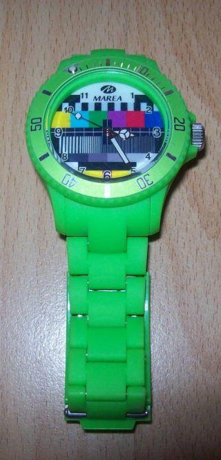 Neongrüne Marea Uhr Bild