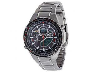Quality Time Solar Funk Armbanduhr Herren Uhr Herrenuhr Titan Optik Funkuhr Bild
