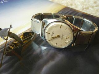 Uhr Herren Kienzle Handaufzug Mechanisch Vintage Läuft Gut Bild