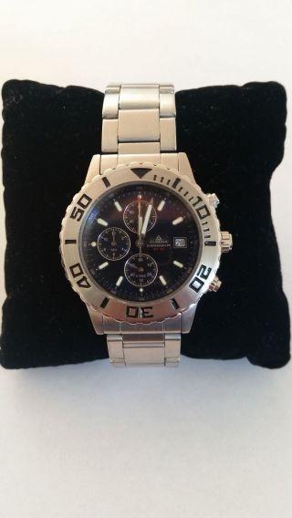 Dugena Chronograph Wr 100 Herren Armbanduhr / Chronograph (wie) Bild