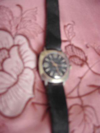R U H L A - Uhr,  Made In Gdr Classik,  Analog,  Datum,  Mechanisch,  Handaufzug Bild