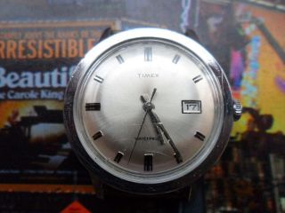 Vintage Timex Rar Selten Uhr Bild