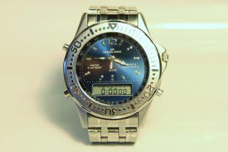 80er Jahre Meister Anker Dual Timer Analog/digital Chronograph Bild