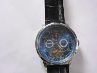 Breytenbach Automatic Uhr Mit Leder Arm Band. Bild