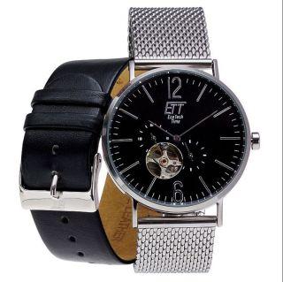 Ett Automatik Uhr Miyota Citizen Uhrwerk Automatic Automatikuhr Armbanduhr Bild
