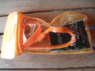 Madison York Silikon Uhr Armbanduhr Orange - Bild