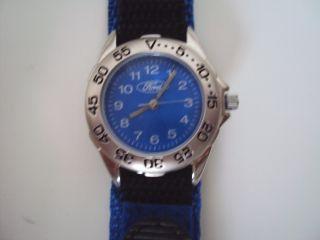 Ford Damen Sport Armbanduhr Mit Blauem Taucherband Bild
