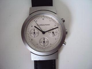 Lufthansa Technik Chronograph Sammler Uhr Bild
