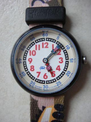 Kinderuhr Kinderarmbanduhr Armbanduhr Kinder Uhr Flik Flak Autos Bild