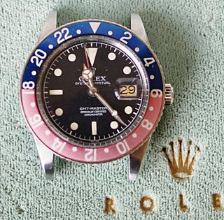 Rolex Gmt Master 6542 No Crown Guard Aus 1959 Bild