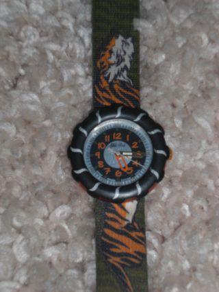 Tolle Flik Flak Uhr Tiger Kinderuhr Armbanduhr Bild