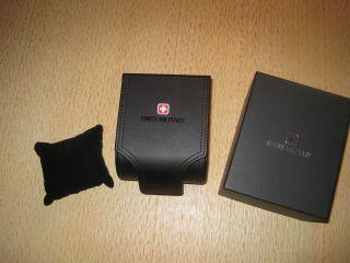 Swiss Military Box Aufbewahrung Verkaufsbox Verkaufsschachtel Für Armbanduhr Bild