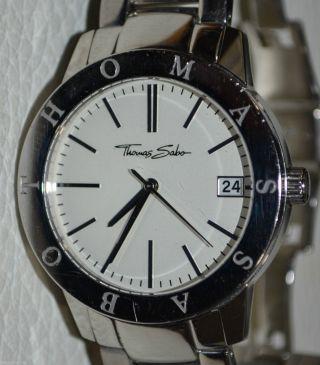 Thomas Sabo Herren Armbanduhr Edelstahl /quarz Watch Bild