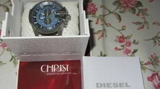 Sportliche Eleganz.  Diesel Dz 4281 Chronograph Herrenuhr Armbanduhr Neuw. Bild
