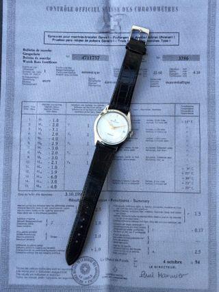 Blancpain Uhr Automatik Swiss Vintage 1970 Watch Edelstahl LÄuft Herrenuhr Bild