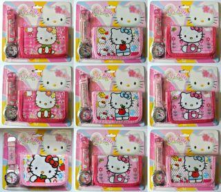Hello Kitty Armbanduhr Und GeldbÖrse Bild