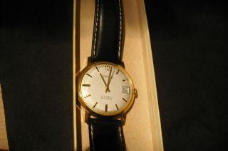 Porta Vintage Sammler Armbanduhr 17 Rubis Antichoc Puw Jubiläumsuhr Henschel Bild