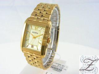 Adora Herrenuhr A469ecg Pvd Gehäuse Und Armband Edelstahl Pvd Vergoldet Uhren Bild