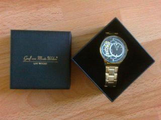 Graf Von Monte Wehro - & In Ovp - Herrenuhr - Armbanduhr - Goldene Uhr Bild