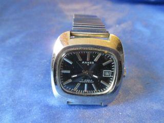 Nachlass Wunderschöne Anker Hau Armbanduhr = Ein Hingucker Alter Zeit Bild