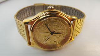 Kienzle Automatik Uhr 1 Deutsche Mark,  Sammleruhr 50 - Jährigen Jubiläum D.  D - Mark Bild