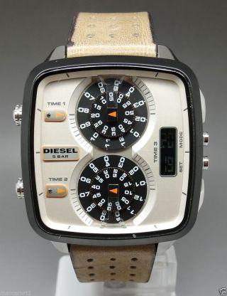 Diesel Dz7303 Hal Herrenuhr Chronograph 3 Zeitzonen / & Box Np 249€ Bild