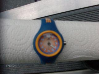 Adidas Kinder - Armbanduhr Blau - Orange Adk1477 Bild