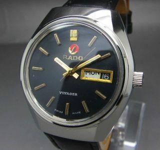 Scharzer Rado Voyager 25 Jewels Mit Tag/datumanzeige Mechanische Automatik Uhr Bild