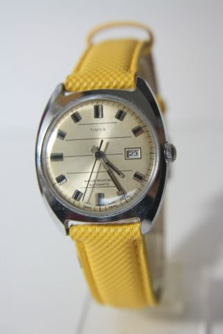 Schöne Timex Automatik Herrenarmbanduhr Bild