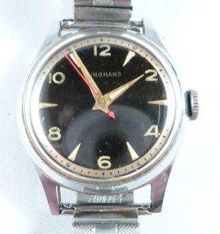 Vintage Junghans Armbanduhr - Läuft Bild