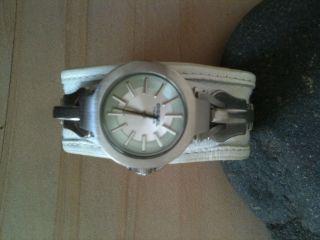 Leder Armbanduhr Diesel Bild