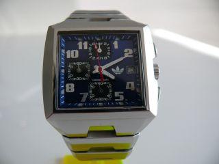 Adidas 10 - 0229 Chronograph Herren Uhr Armbanduhr 10atm Watch Bild