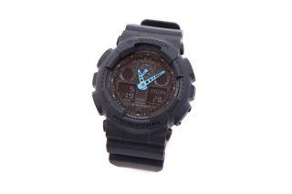 G - Shock Ga - 100c - 8aer Armbanduhr,  Grey_902744 Bild