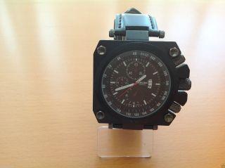 Xxl Herrenuhr - Zeiger 8331 Japan Movt / U - Boot Uhr Bild