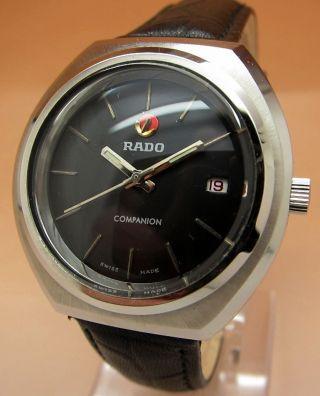 Rado Companion Mechanische Uhr 25 Jewels Datumanzeige Lumi Zeiger Bild