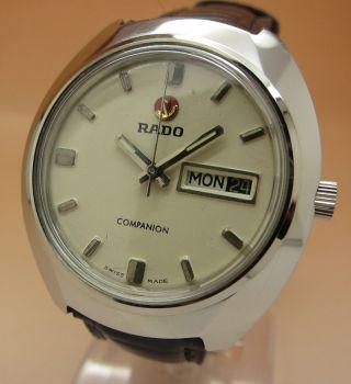 Rado Companion Mechanische Uhr 25 Jewels Datum & Tag Lumi Zeiger Bild