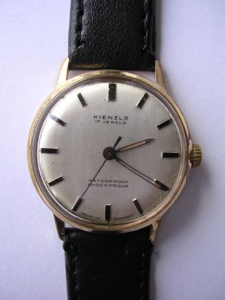 Armbanduhr Kienzle Mechanisch Hau Vintage Handaufzug Bild