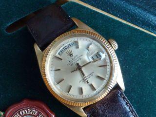 Rolex Day Date 6611b Day - Date Solid Gold Bild