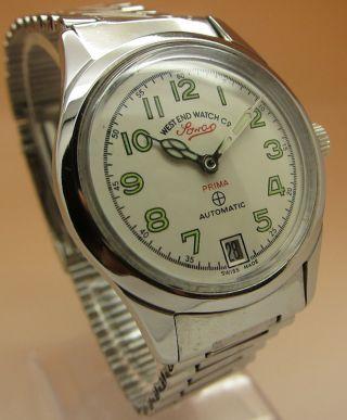 West End Watch Sowar Prima Mechanische Automatik Uhr Datumanzeige Bild
