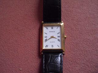 Armbanduhr Kienzle Rechteckig Mit Römischen Ziffern Bild