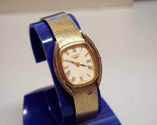 Longines - Damen - Uhr (lady ' S Watch) Mit Mech Werk Bild