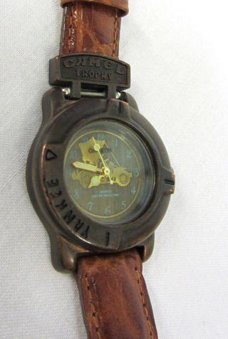 Camel Trophy Armbanduhr Camel Uhr Vintage Camel Christin Uhr Yankee Uhr Rar Top Bild