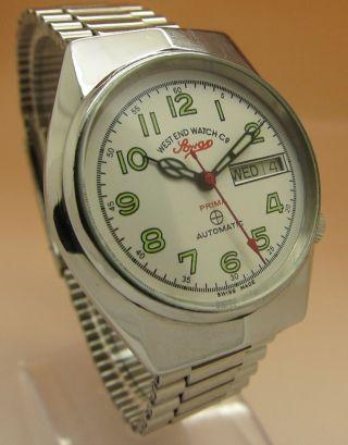 West End Watch Sowar Prima Mechanische Automatik Uhr Datum & Tag Bild